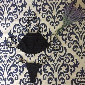 Other - Halter SHELL detailed String Bikini Set